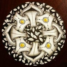 #opus #zentangle #zentangleart #pattern #huggies #tangle #artist #artwork #taiwan #taipei #sandyart #renaissance
