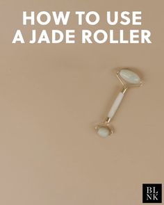 How to Use a Jade Roller #blinkbeauty #jaderoller #beautytutorial #beautytips