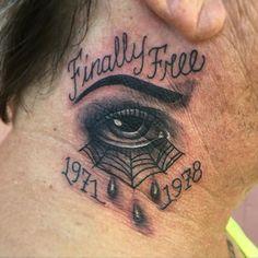 black n gray tattoo Gray Tattoo, I Tattoo, Tattoo Design Drawings, Tattoo Designs, Teardrop Tattoo, Shape Tattoo, Tatoos, Tatting, Black