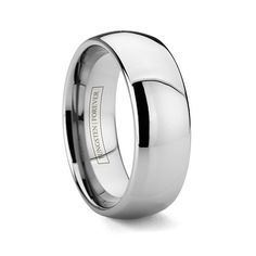 Mens Durable Tungsten Carbide Rings