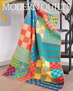 Modern Quilts Illustrated by Weeks Ringle and Bill Kerr from Modern Quilt Studio, available now!