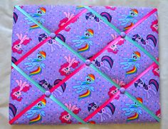 My Little Pony Memo Board by CharacterBoards on Etsy