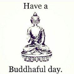 Have a Buddhaful day  #m_eye_nd
