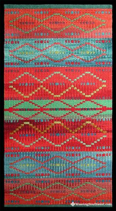 Your Daily Dose of Inspiration! Trade Blanket Redux by Connie Enzmann-Forneris. Enjoy!