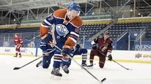 Edmonton Oilers' prodigy Connor McDavid is the major draw this weekend at the annual Western Canada tournament for first-year players