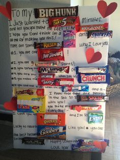Easy Christmas Gifts to Make for Family – Candy Poster My Funny Valentine, Best Friend Valentines, Diy Valentines Day Gifts For Him, Friends Valentines Day, Christmas Gifts To Make, Valentines Diy, Holiday Fun, Holiday Treats, Candy Bar Cards