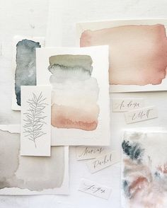 Watercolor by Wildfield Paper Co.