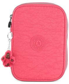 Attention all artists, students and anyone who loves to write, this ultra-lightweight pen case from Kipling is exactly what you've been looking for. Plenty of individual sleeves keep pens, pencils and