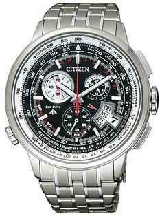 Citizen Eco-Drive Chrono Time AT Watches Watch Releases Citizen Eco, Cool Watches, Watches For Men, Men's Watches, Fossil, Watch Sale, Casio Watch, Luxury Watches, Pierre Cardin