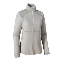 Stay warm and dry in cool-to-cold conditions in our warmest and most breathable baselayer: the Patagonia Women's Capilene® 4 Expedition Weight Zip-Neck.