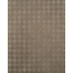 York Wallcoverings HT2001 Texture Portfolio Diamond Weave Wallpaper, Brown sandstone