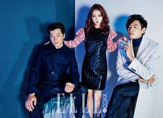 Park Bo Young, Lee Chun Hee and Lee Kwang Soo - Elle Magazine November Issue Running Man Cast, Lee Kwangsoo, Master's Sun, Kwang Soo, Park Bo Young, Upcoming Films, Elle Magazine, Cosmopolitan, Editorial Fashion