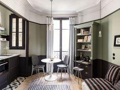 Marianne Evennou a un don pour transformer un petit espace en un intérieur stylé. Zoom sur cet appartement parisien de 18 m2 qu'elle a décoré.