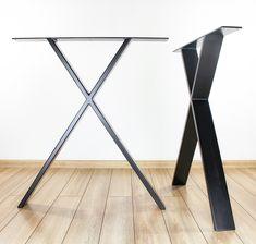 Metal Desk Legs, Home Office Desk Legs (Set of 2), Steel Desk Legs, Reclaimed Wood Desk Legs, Indusutrial Desk Legs, Minimalist Desk Legs Kitchen Table Legs, Metal Dining Table, Modern Dining Table, Dining Room, Metal Desk Legs, Steel Table Legs, Metal Desks, Modern Table Legs, Industrial Table Legs
