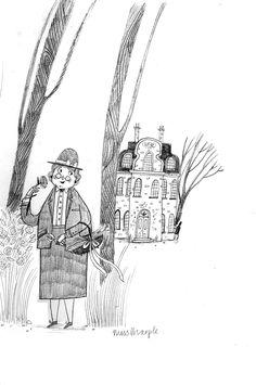 Miss Marple - Alex T. Smith: Sketchbook