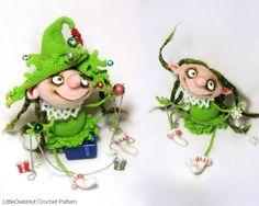 064 Puppe Marie den Weihnachtsbaum Amigurumi von LittleOwlsHut