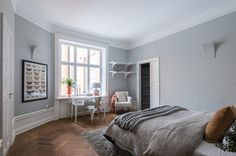 #styling #homestyling #bedroom #sovrum Styling av stor nyrenoverad våning på Sibyllegatan | Move2