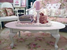 Image detail for -shabby chic centerpiece  love the flooring