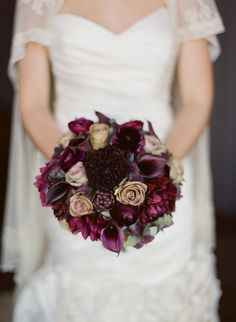 Gorgeous autumnal wedding bouquet- like the colours- bit more glam and white for me!
