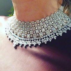 At @jenniferheebner for @roberto_coin #diamond necklace