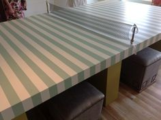 ping ping table painted  | paint your ping pong table!