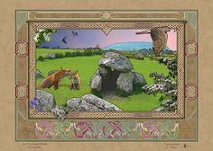 CARROWMORE DOLMEN > Irish Sites: by Jeff Fitzpatrick Adams @ Irish Celtic Illuminations > http://www.irishcelticilluminations.com/ > http://www.facebook.com/IrishCelticIlluminations