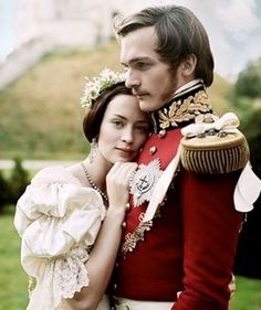 The Young Victoria. This is the photo from the promo, and I love it because it so portrays the epitome of the film.