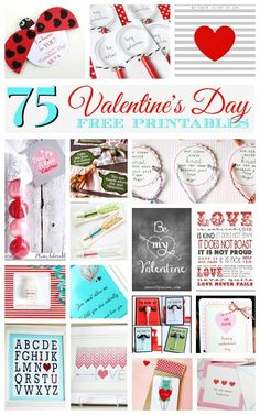 75 Best Valentine's Day Free Printables
