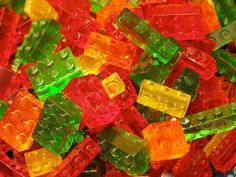 Gummy LEGO Bricks
