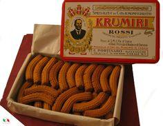 KRUMIRI ROSSI Bisuits Gift Box - Cookies, Brownies & Nougats | ItalianBox