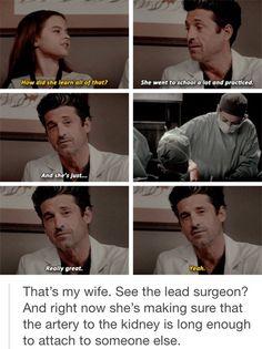 Meredith and Derek were always goals in my eyes Greys Anatomy Funny, Greys Anatomy Episodes, Greys Anatomy Season, Grays Anatomy Tv, Grey Anatomy Quotes, Grey's Anatomy, Scandal, Merideth Grey, The Big Band Theory