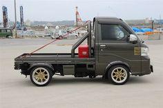 Mini Trucks, Chevy Trucks, Pickup Trucks, Suzuki Carry, Jimny Suzuki, Toy Garage, Kei Car, Little Truck, Japanese Domestic Market