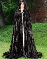 Midnight Fantasy Cloak - 13 Black Cats - 3