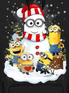 Amor Minions, Cute Minions, My Minion, Minions Quotes, Funny Minion, Funny Jokes, Merry Christmas Minions, Christmas Art, Merry Xmas