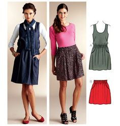 Kwik Sew Pattern Misses Casual /XS-XL