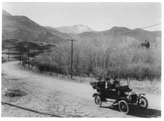 From Manitou To Colorado City (now Westside Old Colorado City neighborhood of Coloado Springs, Colorado ~ 1915 Colorado City, Colorado Springs, Cheyenne Mountain, Utah Adventures, Manitou Springs, Louisiana Purchase, American Frontier, Mountain High, Pikes Peak