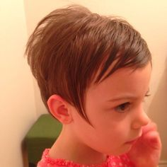 pixie haircut for little girl - Google Search