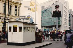 Checkpoint Charlie in Berlin, Germany!