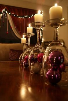17 #DIY #Christmas candles to build your own! #decoration      Looking original DIY #ideas for Christmas decoration of your house, but no result? See my suggestions for Christmas candles and maybe change your mind!