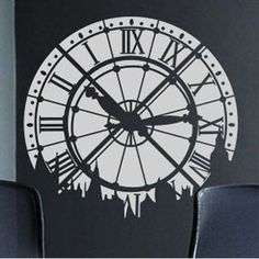 Oltre 1000 idee su grandi orologi su pinterest orologi - Orologi da parete moderni grandi ...