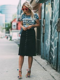 What to Wear to Brunch: 9 Style Bloggers and Their Weekend Winners via @WhoWhatWearUK