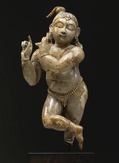 Krishna Venugopala Ivory South India  - mid-18th century
