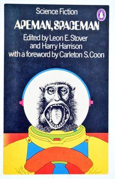 Pocztówka z ilustracją siense fiction