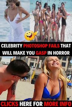 Celebrity Photoshop Fails That Will Make You Gasp In Horror Celebrity Photoshop Fails, Funny Photoshop, Photo Manipulation Tutorial, Perfectly Timed Photos, Funny Memes, Jokes, Girl Boss Quotes, Funny Birthday Cards, Funny Clips