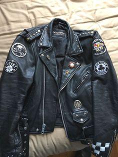 1b616bba denim jacket with patches mens. Læder Mode, Mænds Tøj, Kostume Design,  Cowboyjakke