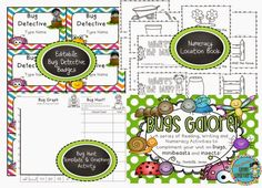 Bugs Galore: Reading, Writing