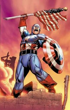 Captain America - Visit to grab an amazing super hero shirt now on sale!