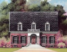 Eplans Adam - Federal House Plan - Stately, Symmetrical, and Limitless - 2922 Square Feet and 4 Bedrooms(s) from Eplans - House Plan Code HWEPL11326
