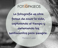 Frases de Fotografía. Citas. Fotógrafos.