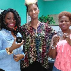 These ladies are flawless and ready to paint the town pink! #new #live #love #locs #naturalhair  #red